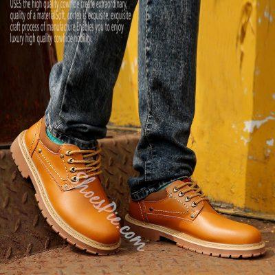 Shoespie Chic Men's Martin Boots