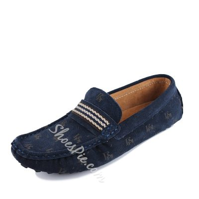 Shoespie Classic Print Men's Loafers