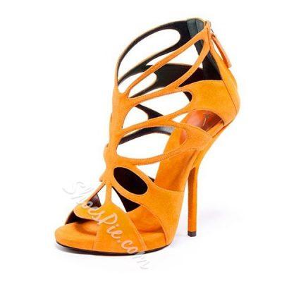 Shoespie Classy Cage Cutout Dress Sandals