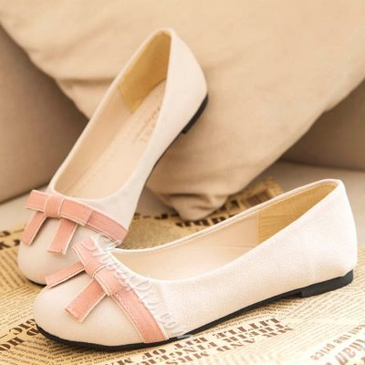 Shoespie Comfortable Bowtie Assorted Color Loafers