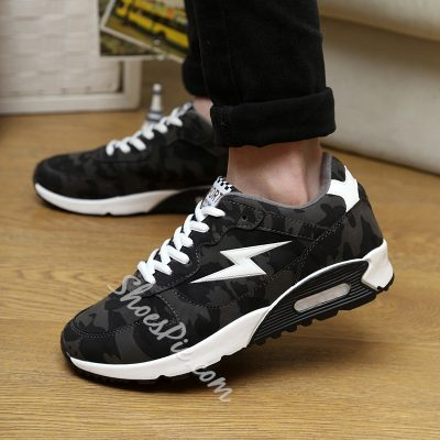 Shoespie Comfortable Lace Up Men's Sneakers