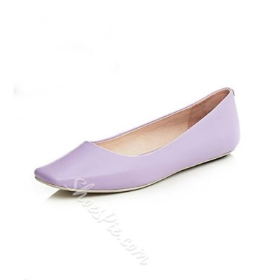 Shoespie Concise Rectangular Toe Loafers