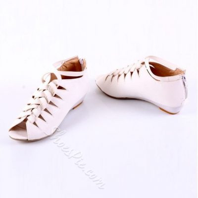 Shoespie Cut-out Flat Sandals