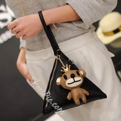 Shoespie Cute Triangle Crossbody Bag