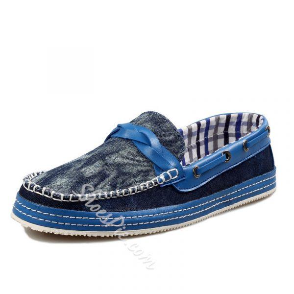 Shoespie Denim Men's Loafers