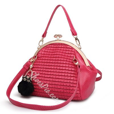 Shoespie Dumpling Shape Handbag
