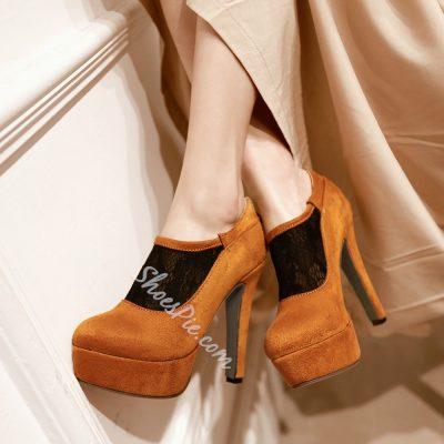 Shoespie Elegant Ankle Boots