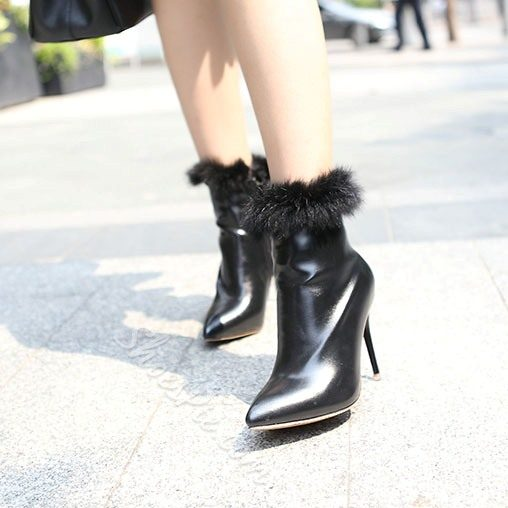 Shoespie Elegant Pointed toe Stiletto Heel Ankle Boots