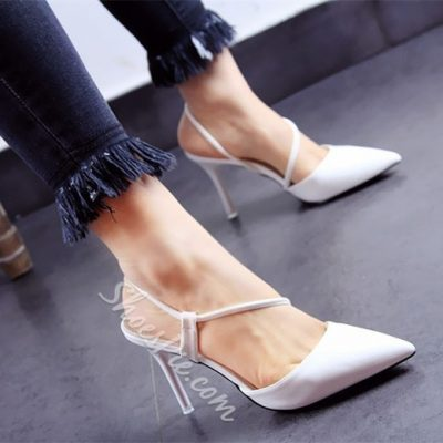 Shoespie Elegant Strappy Looks Pointed Toe Stiletto Heels