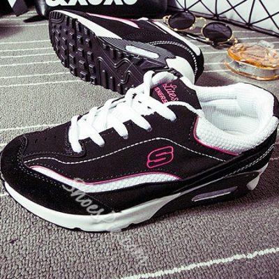 Shoespie Fashion Color Block Sneaker