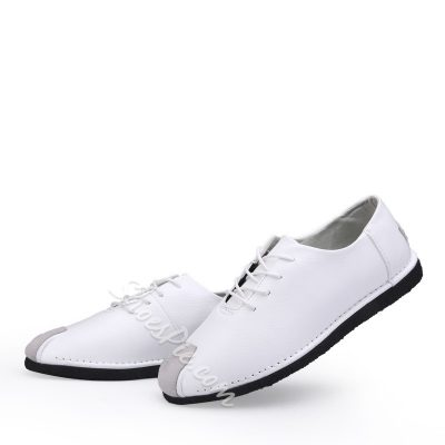 Shoespie Fashion PU Lace-Up Men's Sneakers