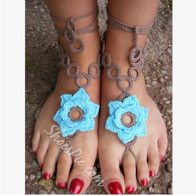 Shoespie Flower Anklet