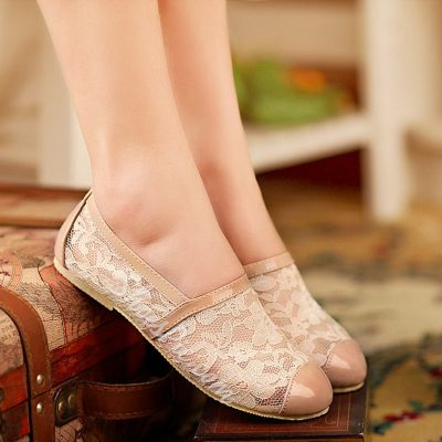 Shoespie Lace Loafers