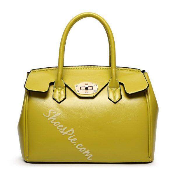 Shoespie Multi Coloe Tote Handbag