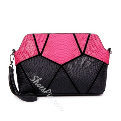 Shoespie Patchwork Handbag