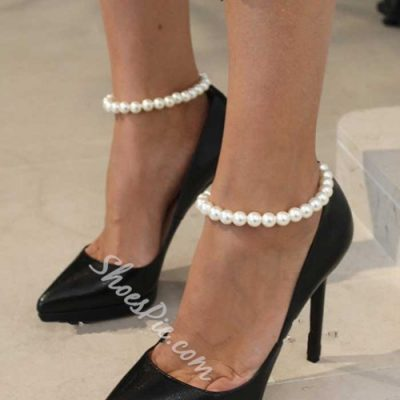 Shoespie Pearl Anklet