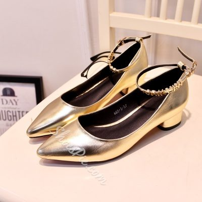 Shoespie Pointed Toe Loafers