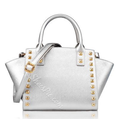 Shoespie Rivet Tote / One Shoulder Handbag