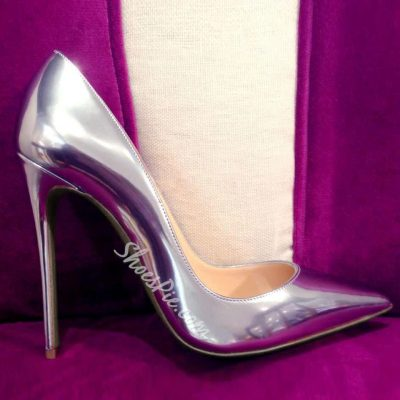 Shoespie Sliver Pointed Toe Stiletto Heels