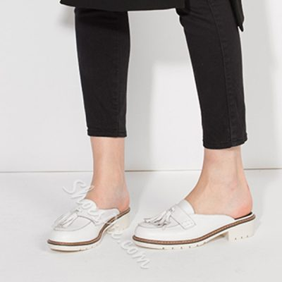 Shoespie Sporty Tassels Loafers