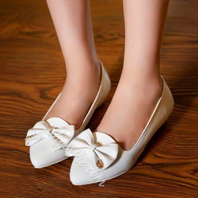 Shoespie Sweet Bowtie Flats