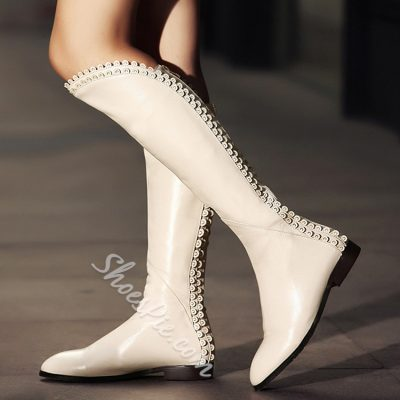 Shoespie Sweet Vintage Princess Knee Boots