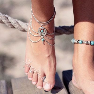 Shoespie Thong Anklet