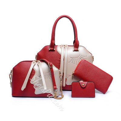 Shoespie Tote Handbag (4bags included )
