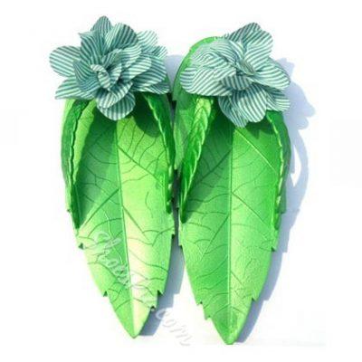 Shoespie Unique Leaf Shape Slippers