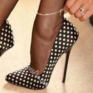 Shoespie Wave-point High Heel Stiletto Heels