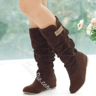 Sweet Girl Lace Knee High Boots