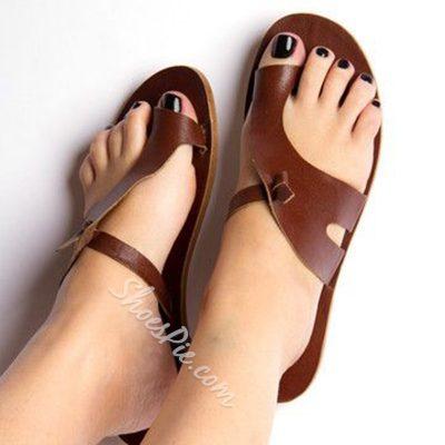 Shoespie Normcore Clip Toe Mules