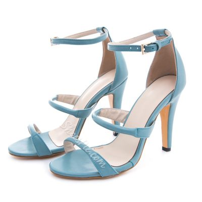 Shoespie Solid Color Sexy Dress Sandals