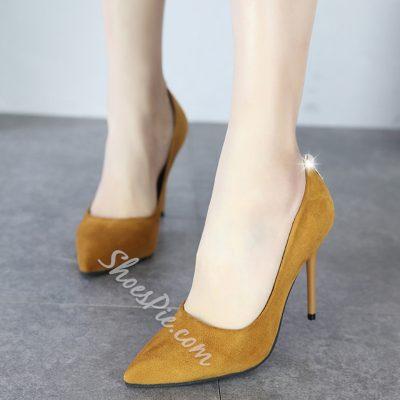 Shoespie Stylish Pointed Toe Stiletto Heels