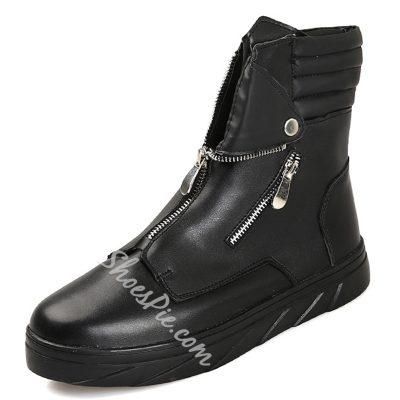 Shoespie Zippers Mens Boots