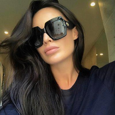 Square Fashion Anti UV Sunglasses