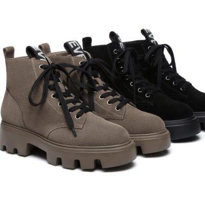 Fashion 4 Shoes - EVER UGG Miss Alph #11444 - Black / AU Ladies 6 / AU Men 4 / EU 37