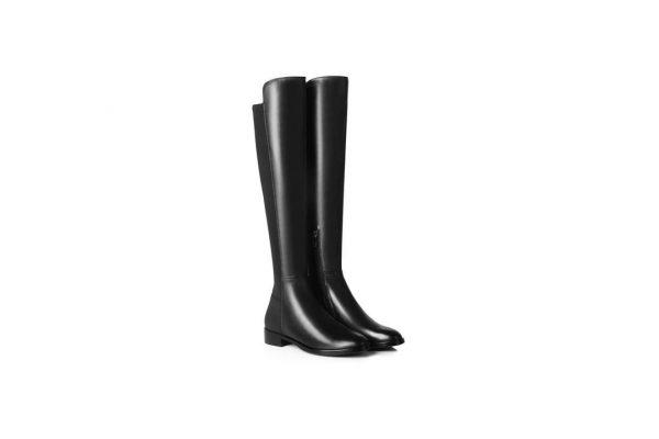 Fashion 4 Shoes - Ever UGG Ladies Elena Knee-High Tall Boots #21575 - Black / AU Ladies 8 / AU Men 6 / EU 39