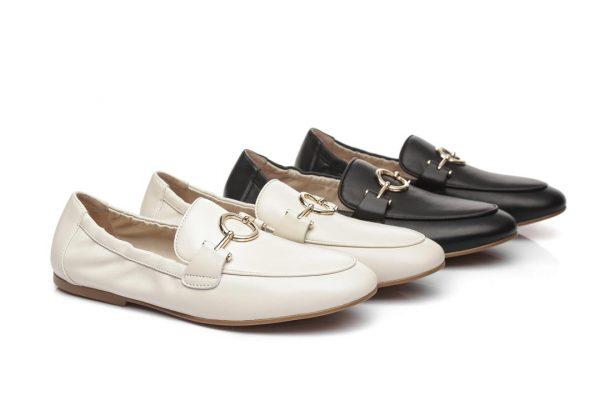 Fashion 4 Shoes - Everugg Loafer Berlin - White / AU Ladies 6 / AU Men 4 / EU 37