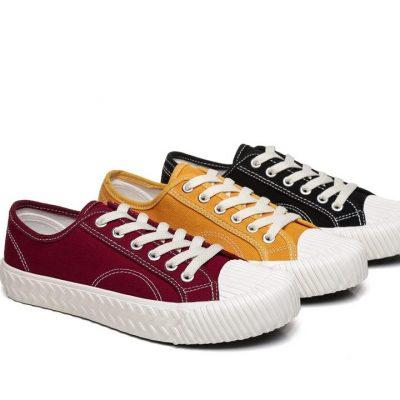 Fashion 4 Shoes - TA Women Sneaker Cracker - Yellow / AU Ladies 5 / AU Men 3 / EU 36