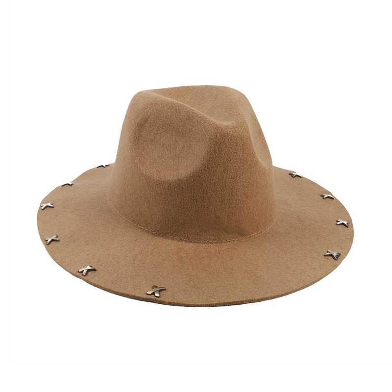 Korean Rivet Bucket Hat Fall Hats