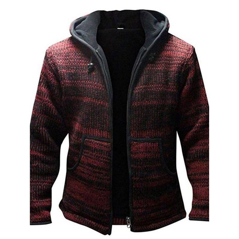 Standard Hooded Winter Casual Sweater