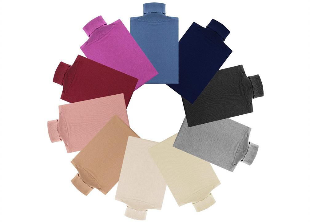 Fashion 4 Shoes - Wool Knitwear Turt - Airy Blue / M
