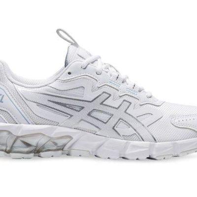 Fashion 4  Shoes - Asics Gel-Quantum 90 Womens White Pure Silver