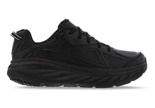 Fashion 4  Shoes - Hoka One One Bondi Leather (2E) Mens Black