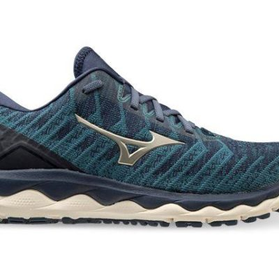 Fashion 4  Shoes - Mizuno Wave Sky 4 Waveknit Mens Hydro Bronzeen