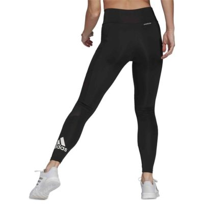 Fashion 4 Shoes - Adidas Designed To Move Big Logo Sport Tights  Size XS Womens