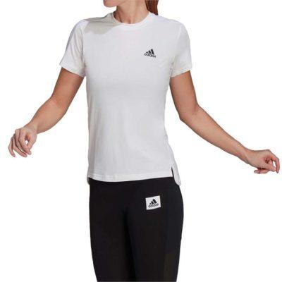 Fashion 4 Shoes - Adidas Women Designed To Move Aeroready Tee  Size XS Womens