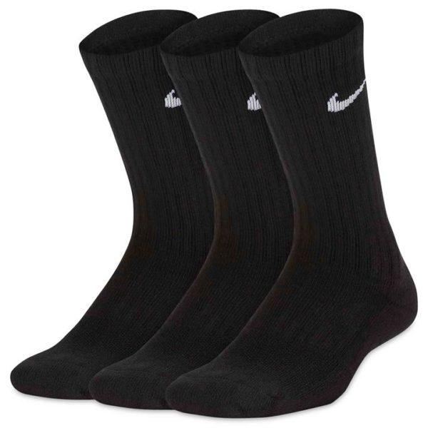 Fashion 4 Shoes - Nike Cushioned Crew Socks 3 Pack  Size S Kids