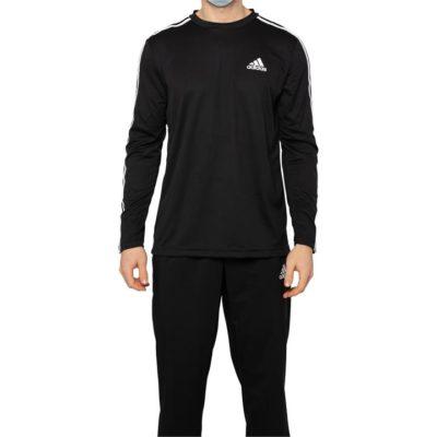 Fashion 4 Shoes - Adidas Aeroready Designed 2 Move 3-Stripes Tee  Size XS Mens